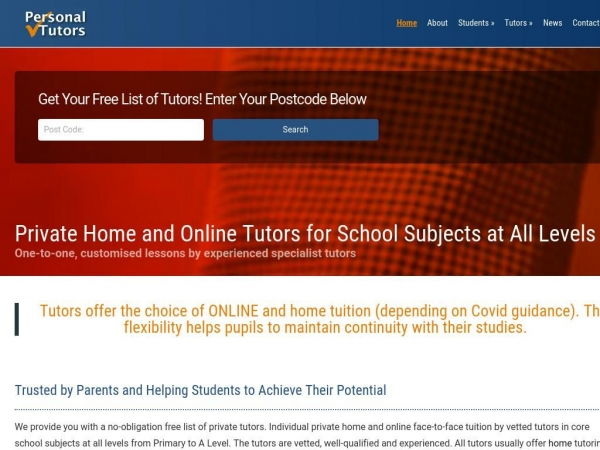 personal-tutors.co.uk