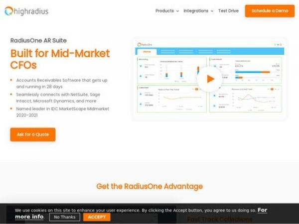 radiusone.highradius.com
