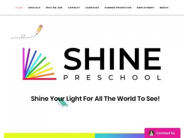 shinepreschoolcenter.com