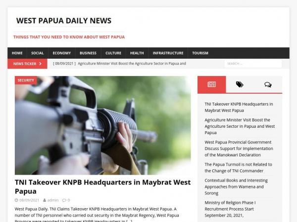 westpapuadaily.com