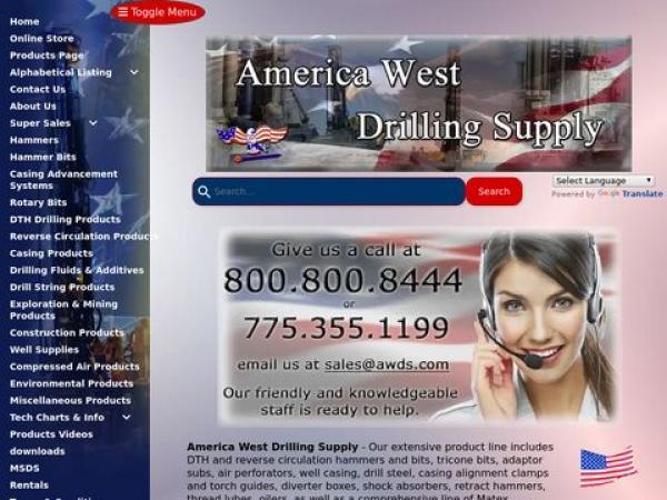 americawestdrillingsupply.com