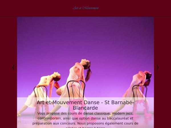 art-et-mouvement-danse.fr