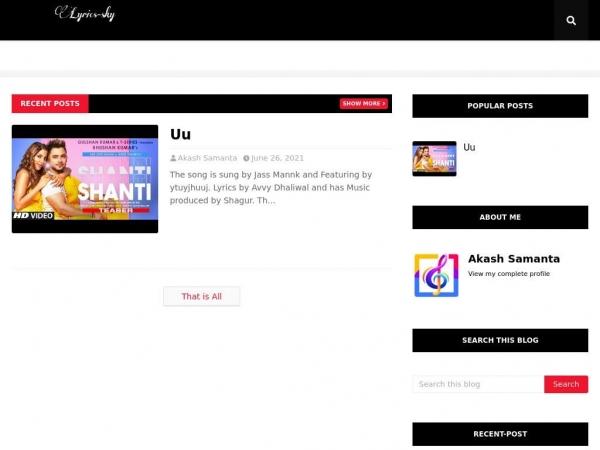 lyric2sky.blogspot.com