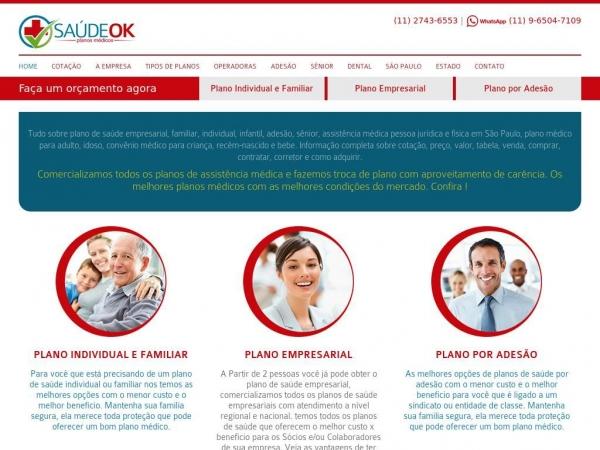saudeokplanosmedicos.com.br