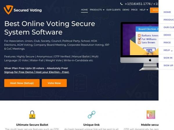 securedvoting.com