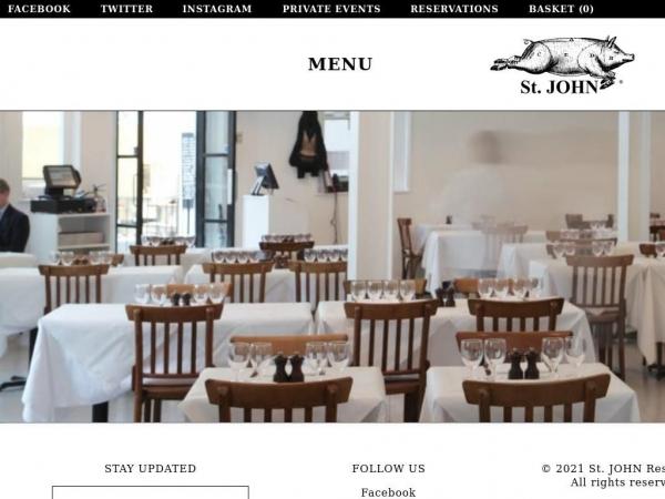 stjohnrestaurant.com