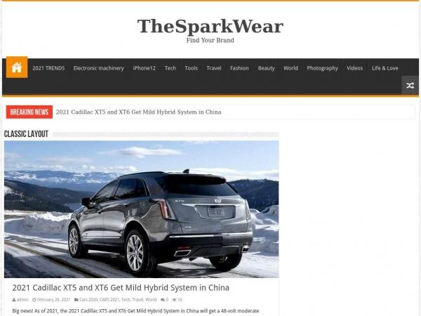 thesparkwear.com